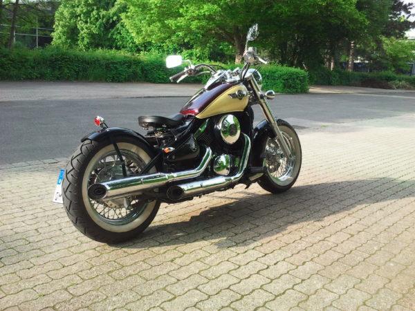 Kawasaki VN 800 Classic Umbau