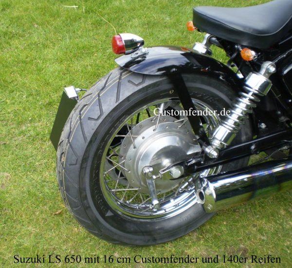 Suzuki LS 650 Bobber
