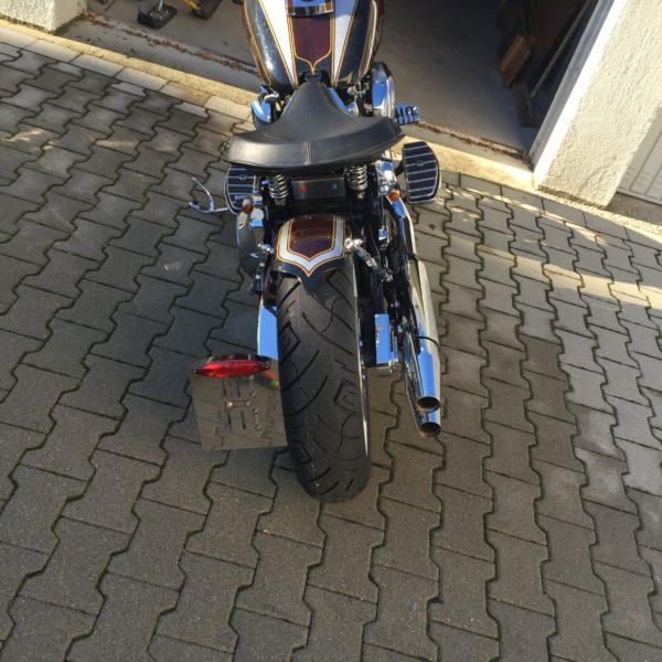 Heckfender Harley Davidson